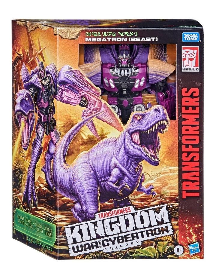 Transformers Generations War for Cybertron: Kingdom Leader Class Assortment image 1