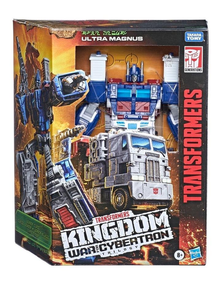 Transformers Generations War for Cybertron: Kingdom Leader Class Assortment image 2