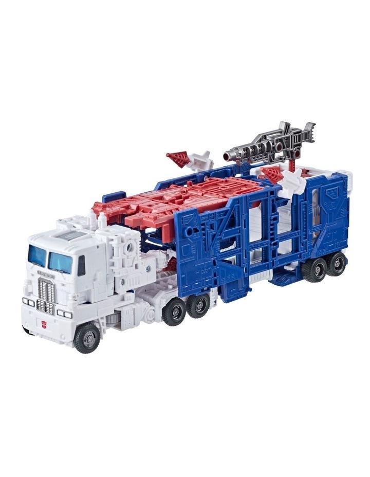 Transformers Generations War for Cybertron: Kingdom Leader Class Assortment image 5