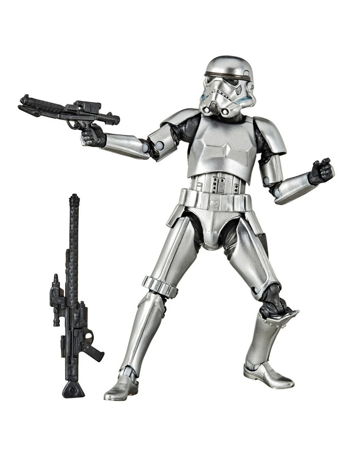 Star Wars The Black Series Carbonized Collection Stormtrooper Toy Figure image 2