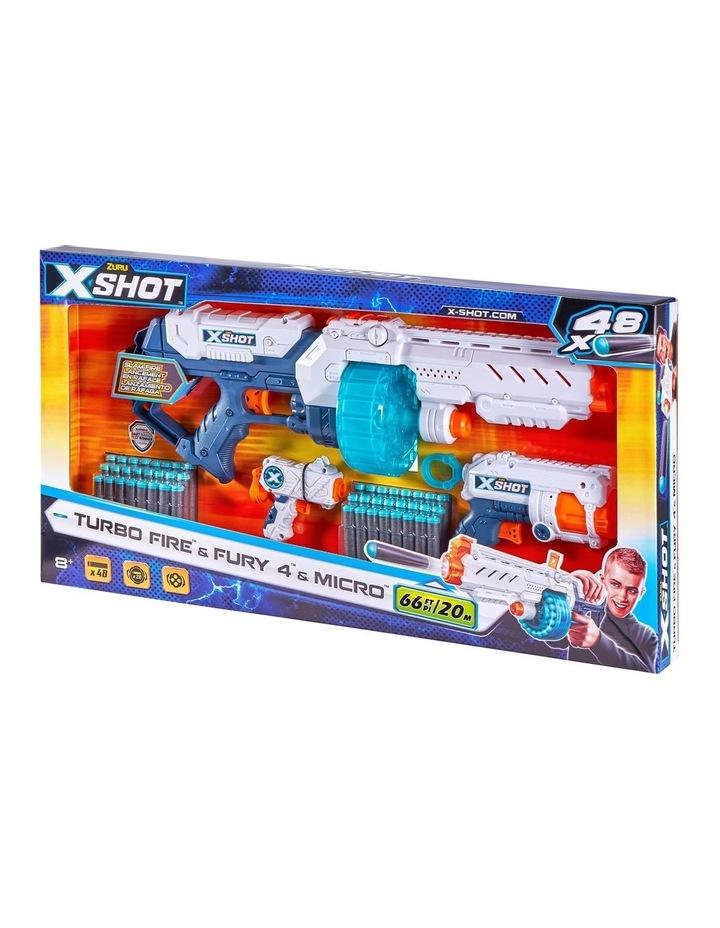 X-Shot Turbo Fire & Fury 4 & Micro Combo image 2