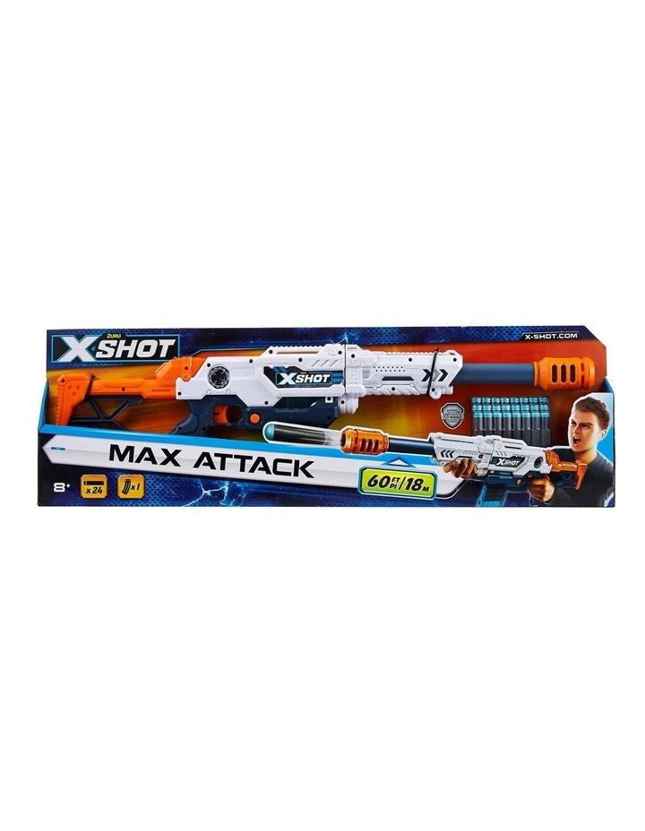 X-Shot Excel Max Attack Foam Dart Blaster (24 Darts) image 1