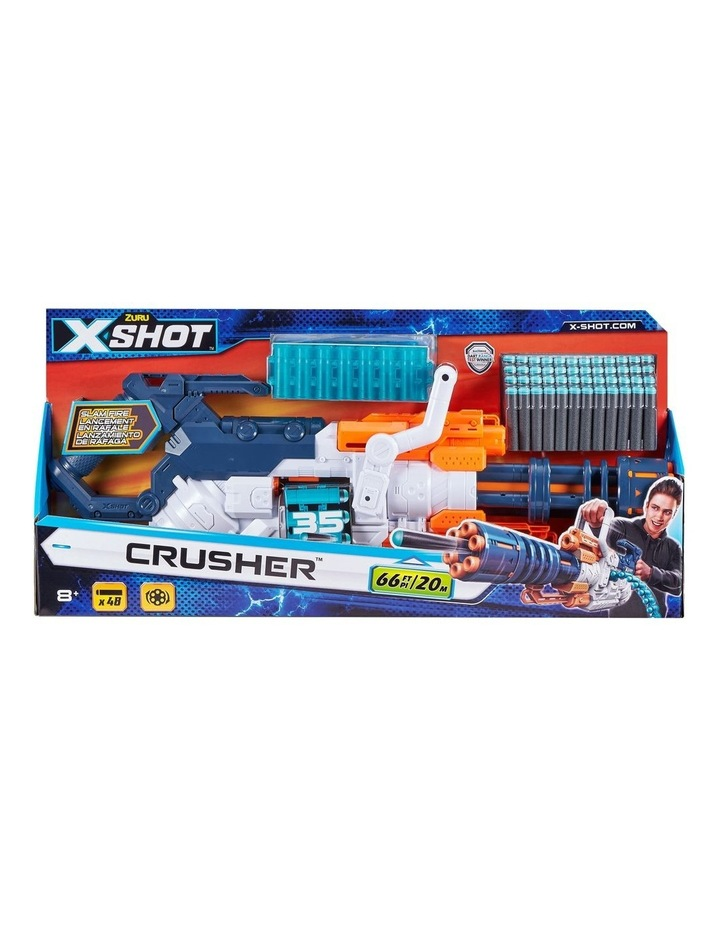 X-Shot Excel Crusher Foam Dart Blaster (48 Darts) image 1