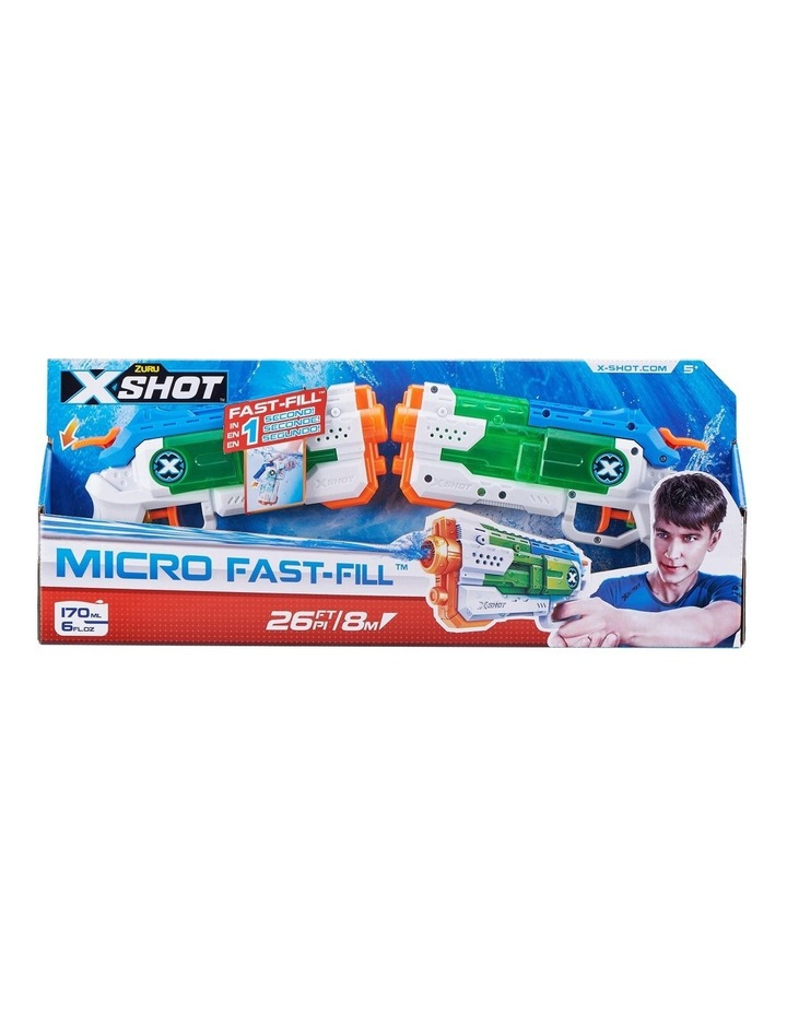 X-Shot Water Warfare Micro Fast-Fill Water Blaster Double Pack image 1