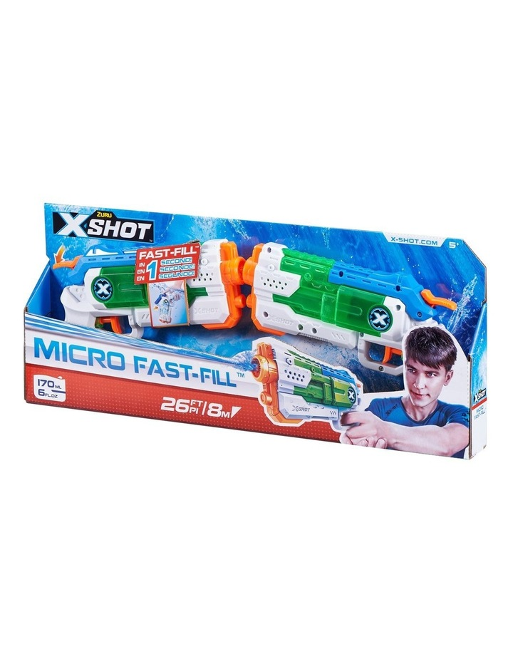 X-Shot Water Warfare Micro Fast-Fill Water Blaster Double Pack image 2