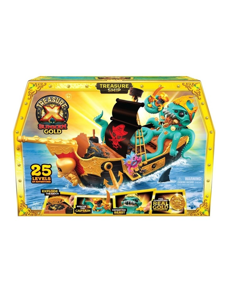 Sunken Gold Treasure Ship Playset image 1