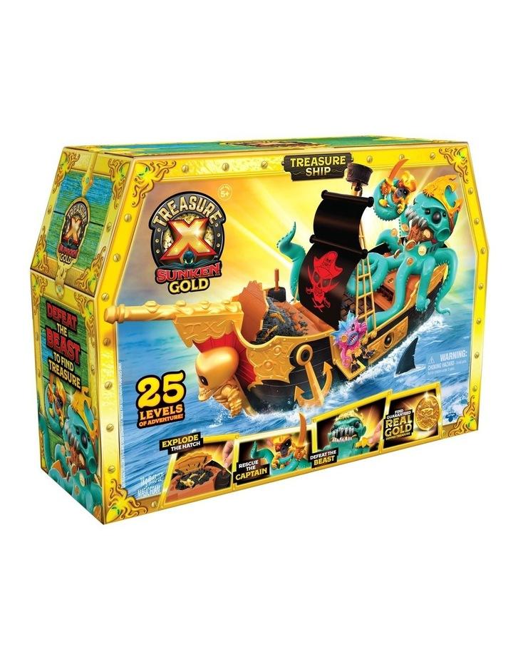 Sunken Gold Treasure Ship Playset image 3