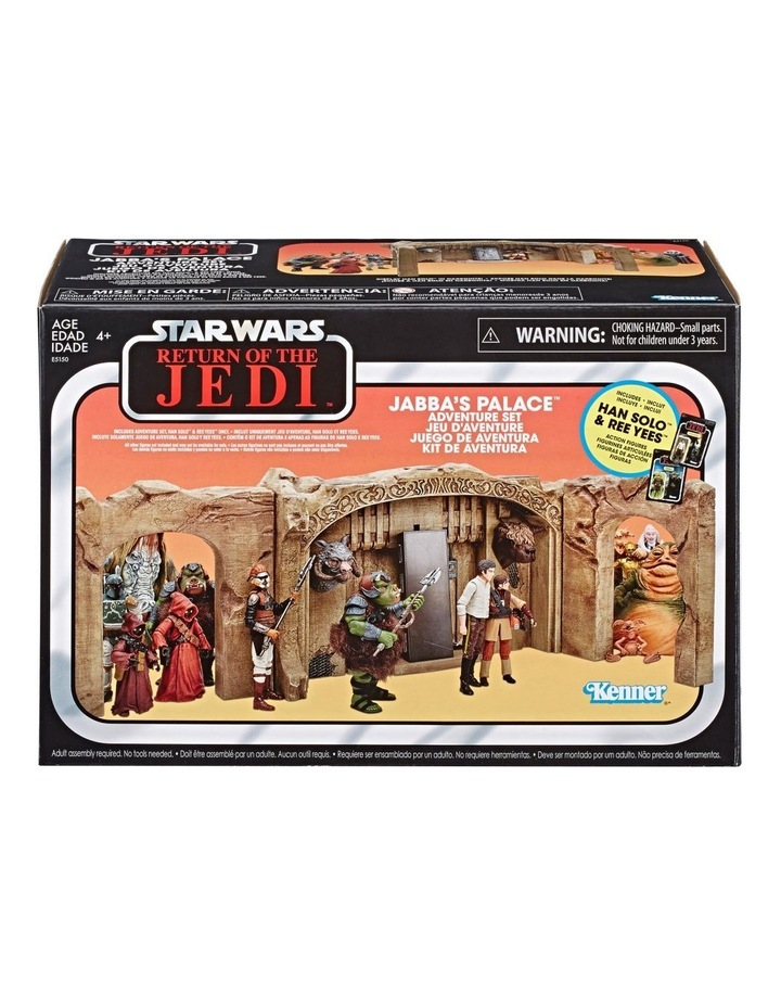Star Wars The Vintage Collection Jabbas Palace Adventure Set Playset image 1