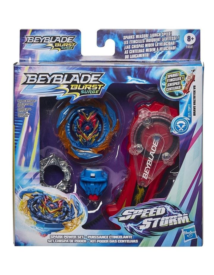 Beyblade Burst Surge Speedstorm Spark Power Set image 1