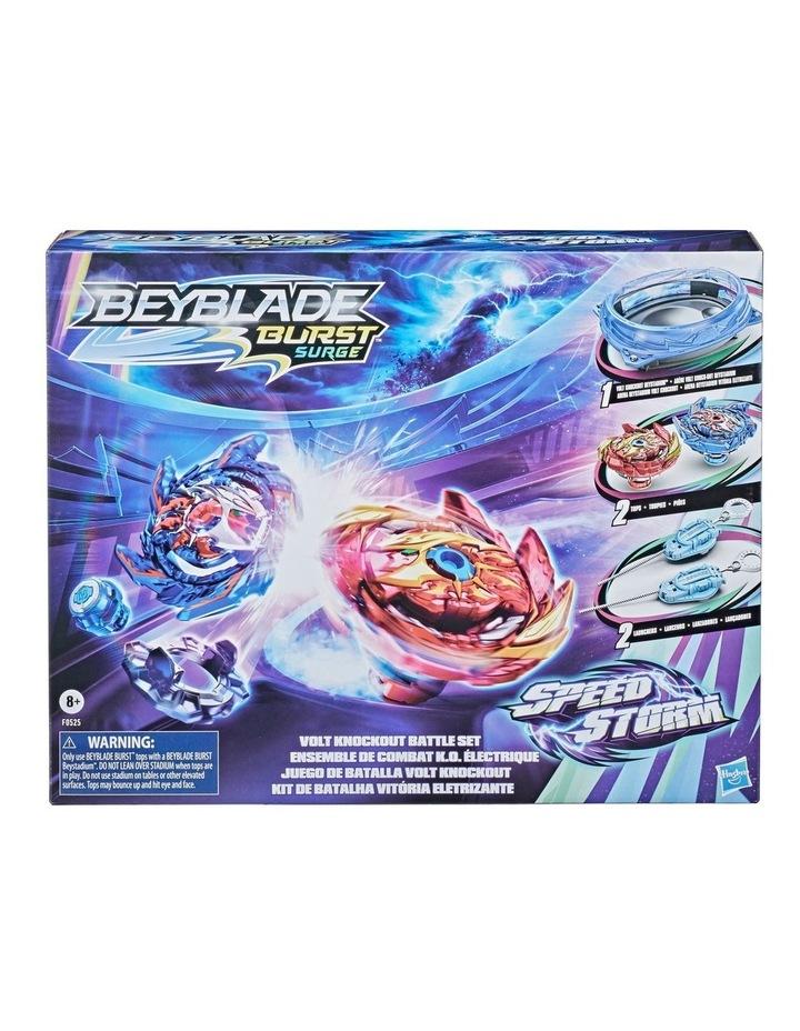 Beyblade Burst Surge Speedstorm Volt Knockout Battle Set image 1