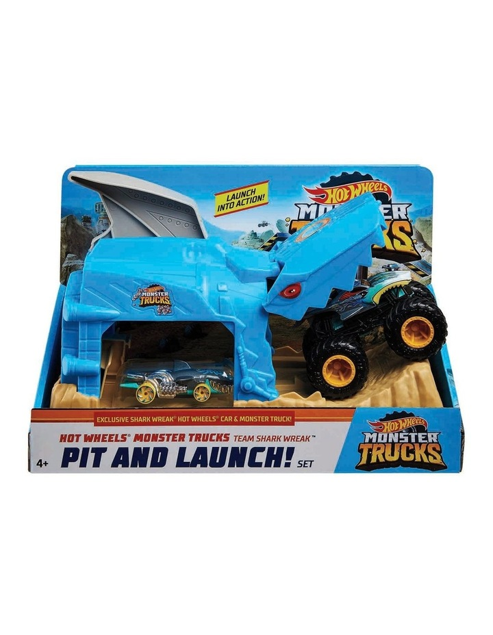 Monster Trucks Pit and Launch Play Set Assortment image 1