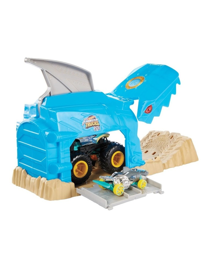 Monster Trucks Pit and Launch Play Set Assortment image 2