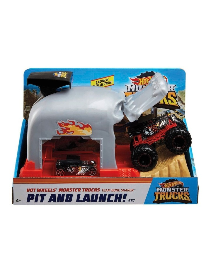 Monster Trucks Pit and Launch Play Set Assortment image 3