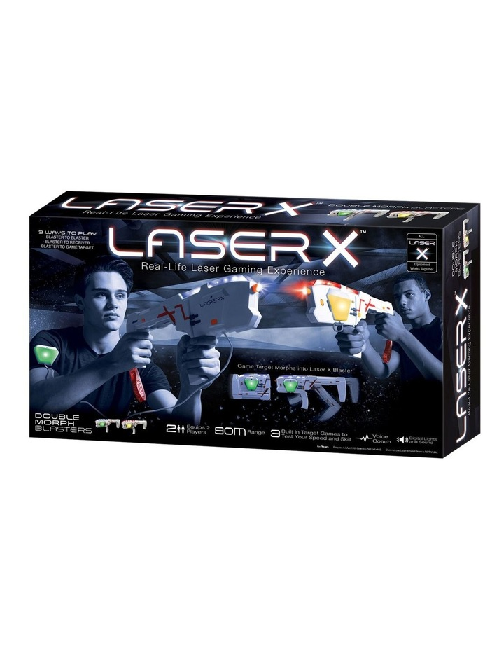 Laser X Morph Double Pack image 1