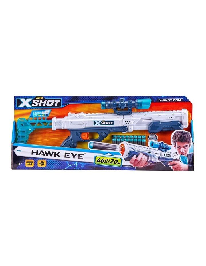X-Shot Excel Hawk Eye Foam Dart Blaster (16 Darts) by ZURU image 1