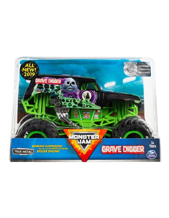 Monster Jam 1:24 Collector Die Cast Vehicle Assortment image 2