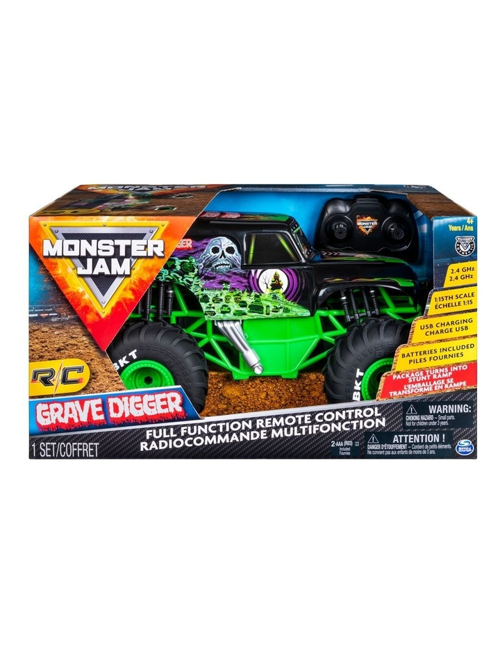 Monster Jam 1:15 RC Grave Digger image 1