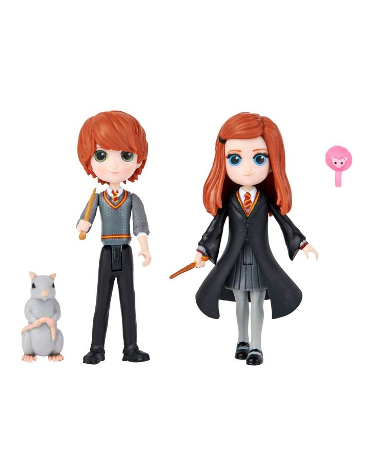 Harry Potter Magical Mini's Friendship Pack - Ron & Ginny image 1