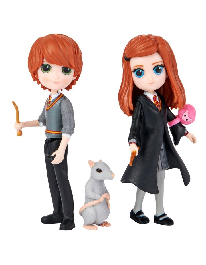 Harry Potter Magical Mini's Friendship Pack - Ron & Ginny image 2