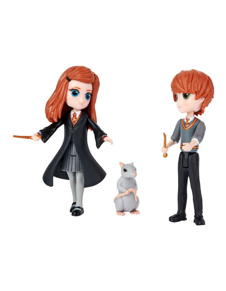 Harry Potter Magical Mini's Friendship Pack - Ron & Ginny image 3