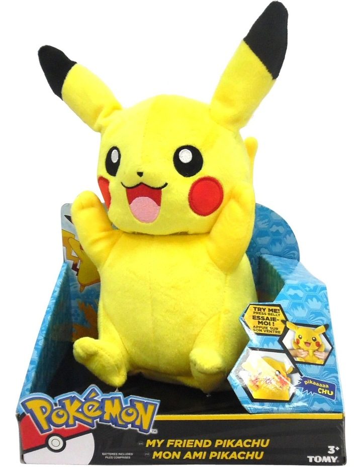 My Friend Pikachu Lights & Sounds Large Plush image 1
