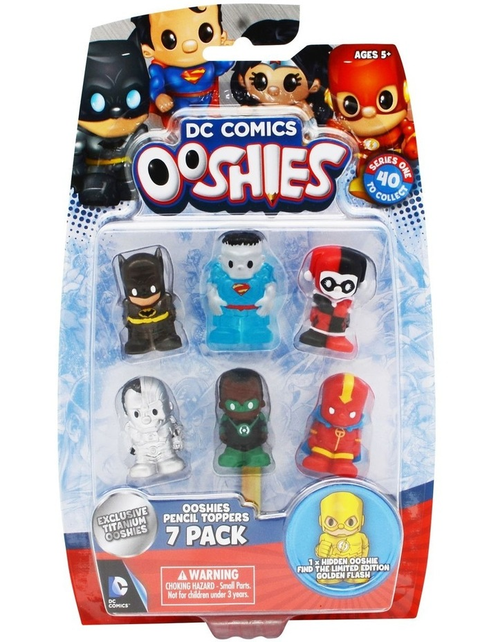 Ooshies DC 7 Pack Assortment Series 1 image 3