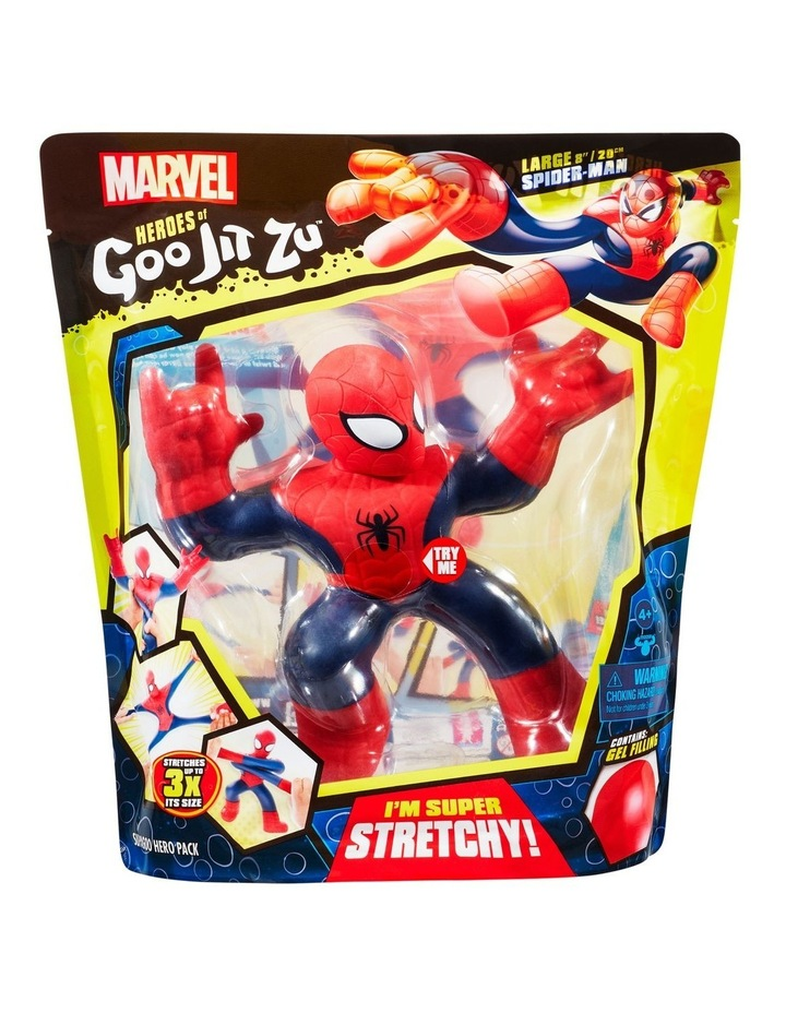 Heroes of Goo Jit Zu Licensed Marvel Supagoo Hero Pack - Spider-Man image 1