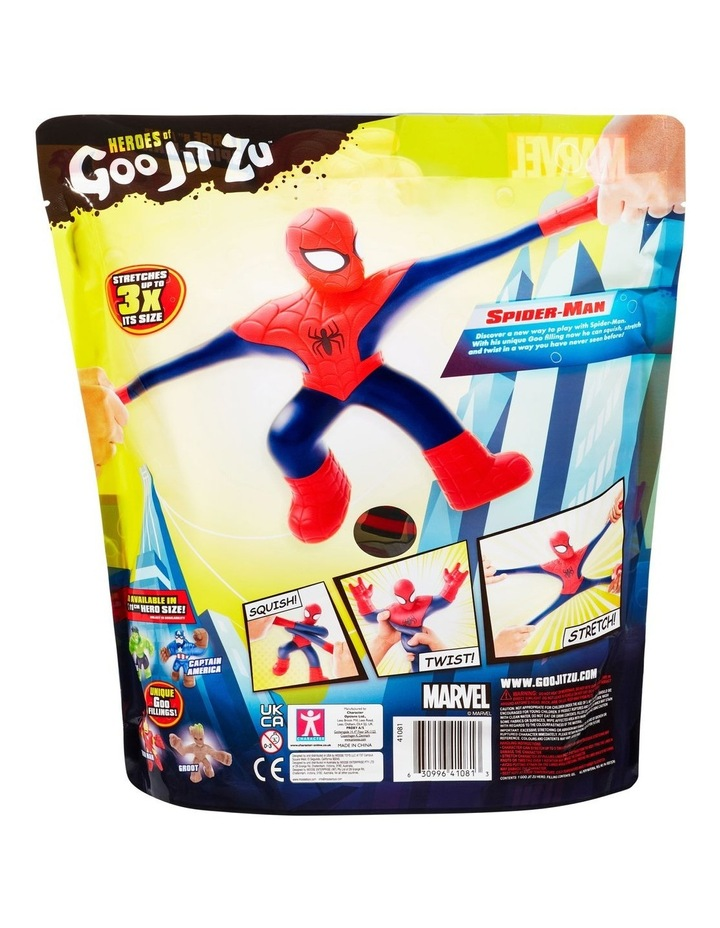 Heroes of Goo Jit Zu Licensed Marvel Supagoo Hero Pack - Spider-Man image 3