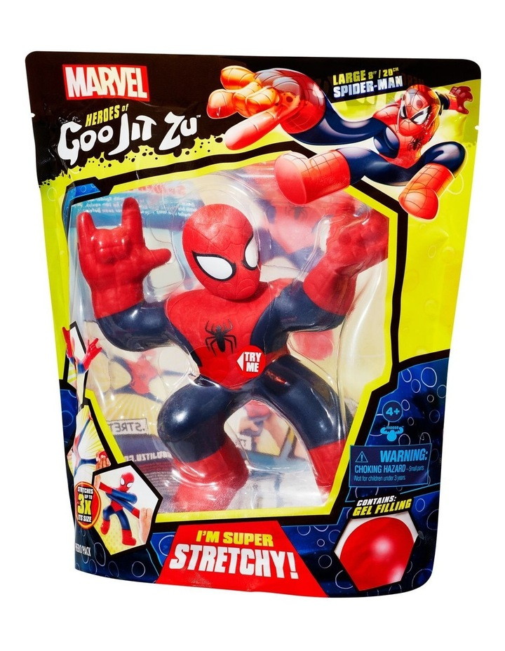 Heroes of Goo Jit Zu Licensed Marvel Supagoo Hero Pack - Spider-Man image 4