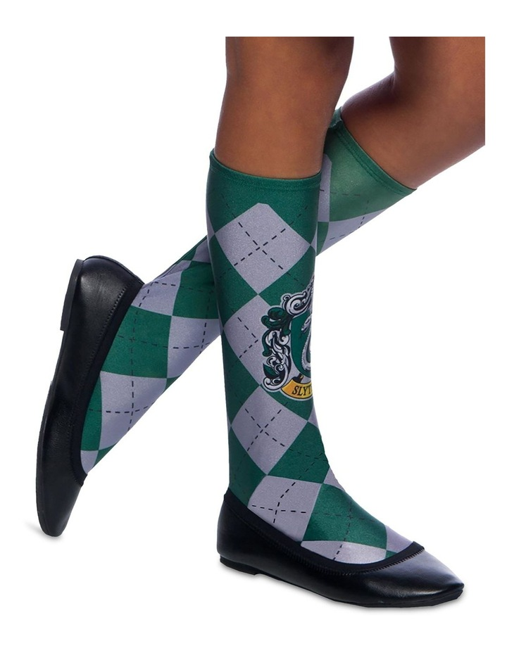 Slytherin Socks - One Size (Fits Shoe Size 6-11) image 1