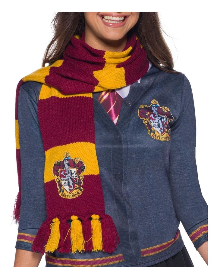 Gryffindor Deluxe Scarf - One Size image 1