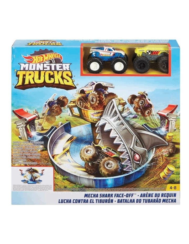 Monster Truck Mecha Shark Face-Off Play Set image 1