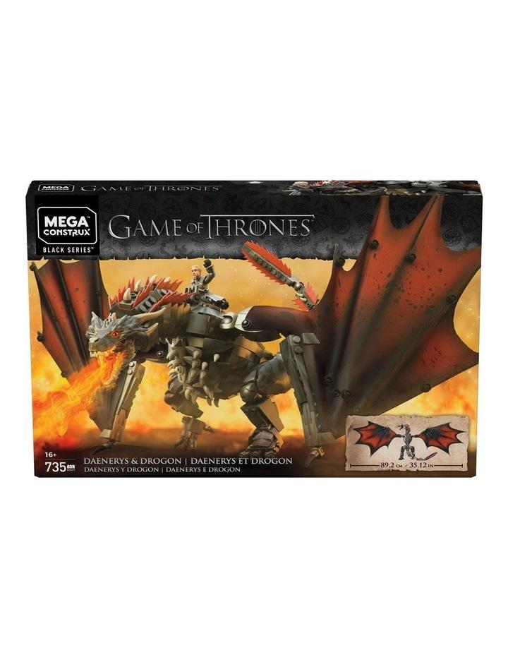 Game of Thrones Daenerys & Drogon image 1