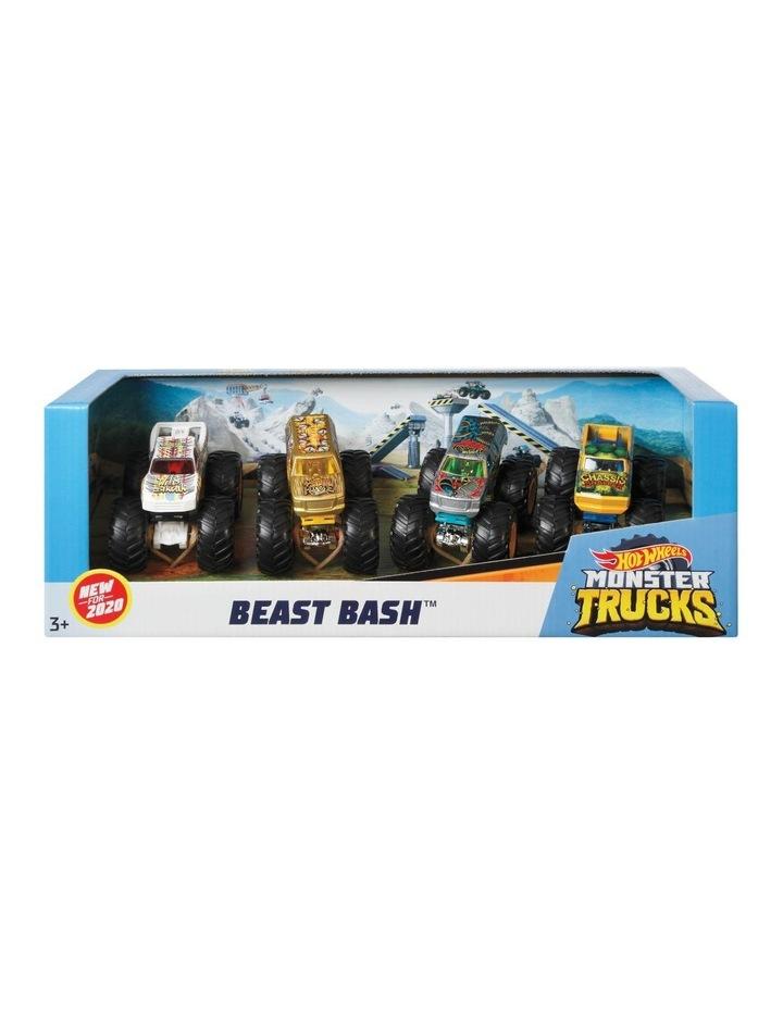 Monster Trucks 1:64 4 Pack Assortment image 1