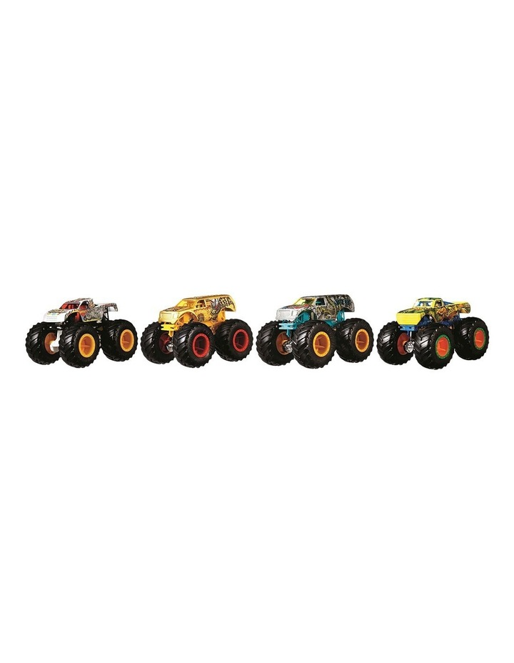 Monster Trucks 1:64 4 Pack Assortment image 2