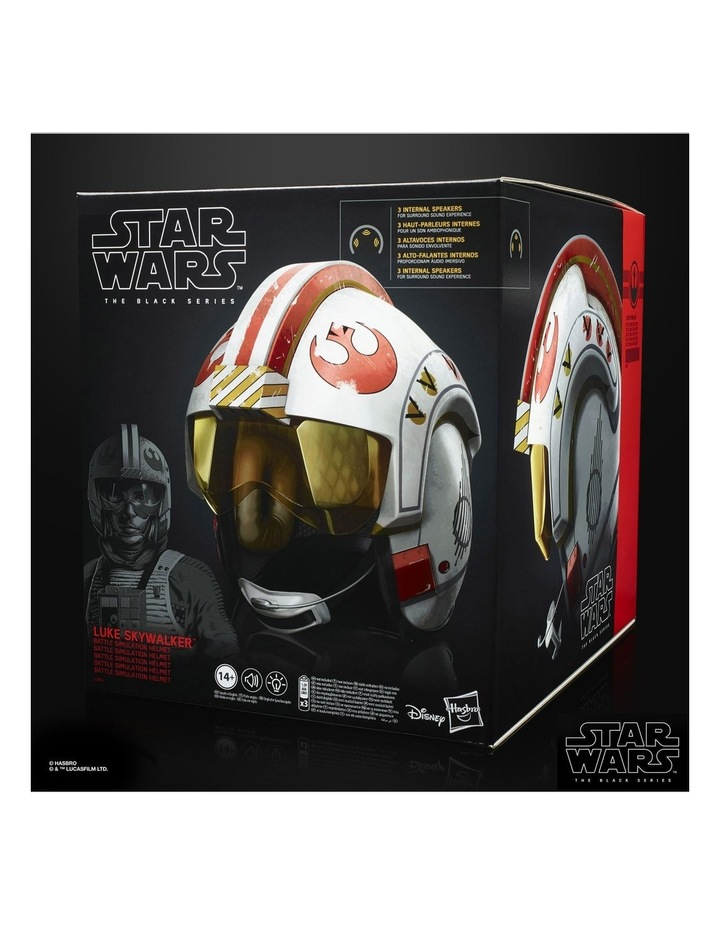 The Black Series - Luke Skywalker Battle Simulation Electronic Helmet - Lights & Sounds image 3