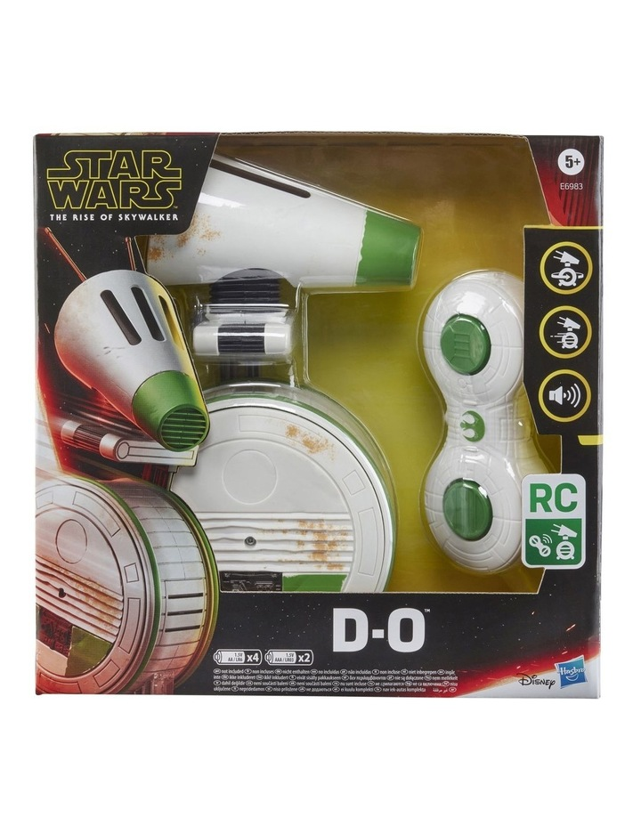 The Rise of Skywalker - Remote Control D-O Rolling Figure - Electronic Droid with Sounds image 3
