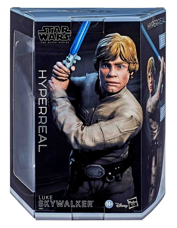 "The Black Series - Luke Skywalker 8"" Collectible Action Figure - Star Wars: The Empire Strikes image 2"