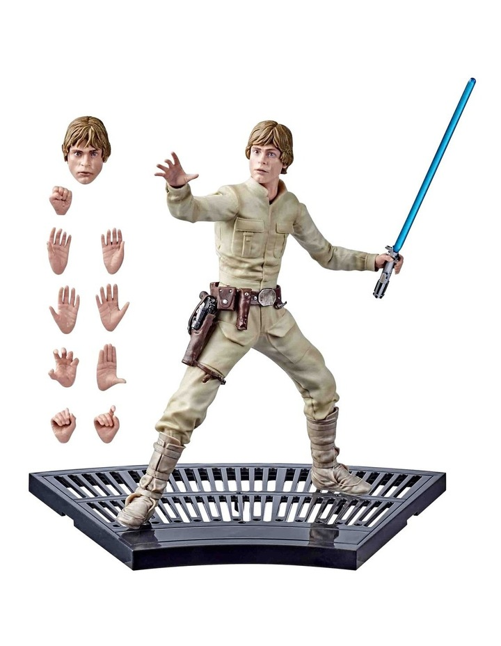 "The Black Series - Luke Skywalker 8"" Collectible Action Figure - Star Wars: The Empire Strikes image 4"