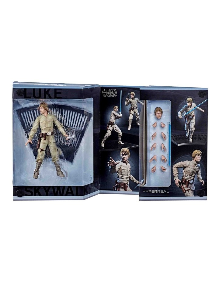 "The Black Series - Luke Skywalker 8"" Collectible Action Figure - Star Wars: The Empire Strikes image 5"