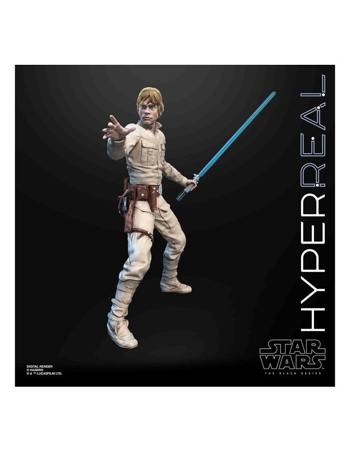 "The Black Series - Luke Skywalker 8"" Collectible Action Figure - Star Wars: The Empire Strikes image 6"
