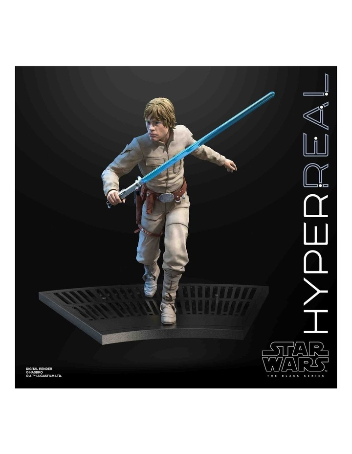 "The Black Series - Luke Skywalker 8"" Collectible Action Figure - Star Wars: The Empire Strikes image 7"