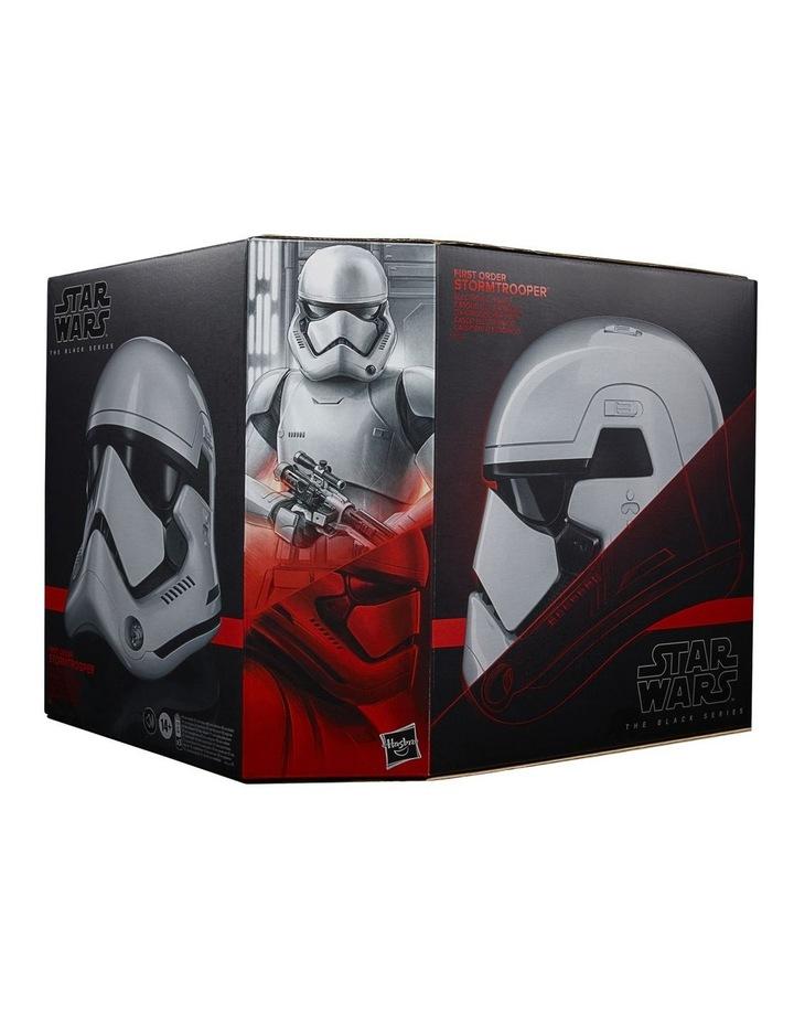 Star Wars The Black Series First Order Stormtrooper Electronic Helmet image 1