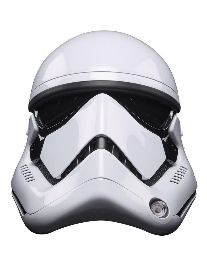 Star Wars The Black Series First Order Stormtrooper Electronic Helmet image 2