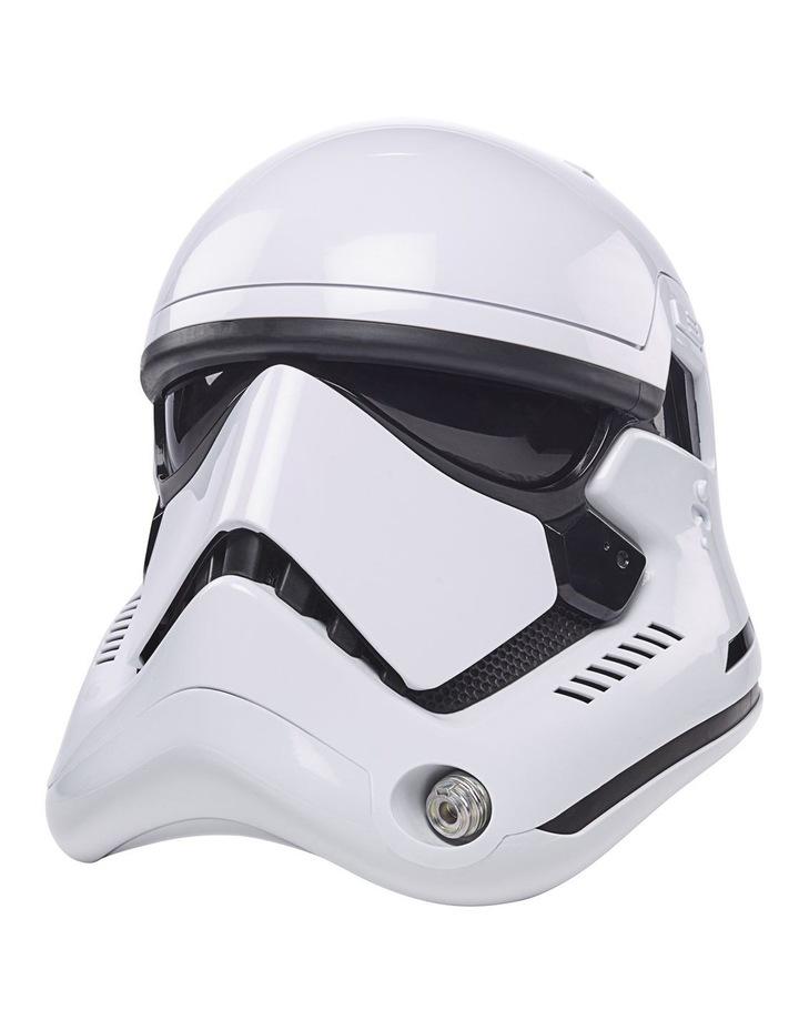 Star Wars The Black Series First Order Stormtrooper Electronic Helmet image 3