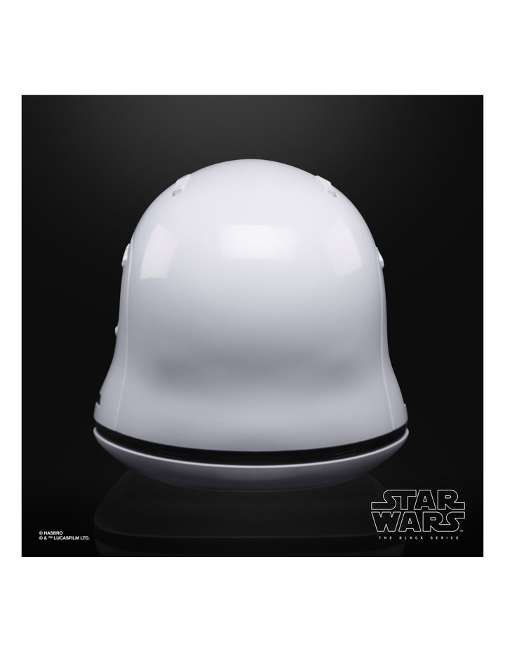 Star Wars The Black Series First Order Stormtrooper Electronic Helmet image 5