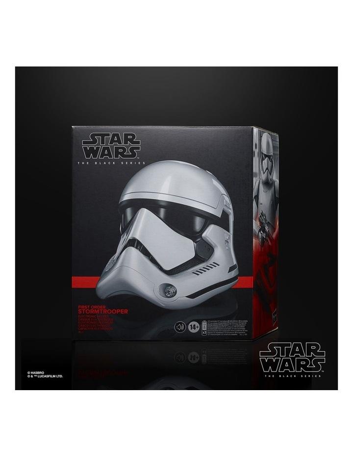 Star Wars The Black Series First Order Stormtrooper Electronic Helmet image 6