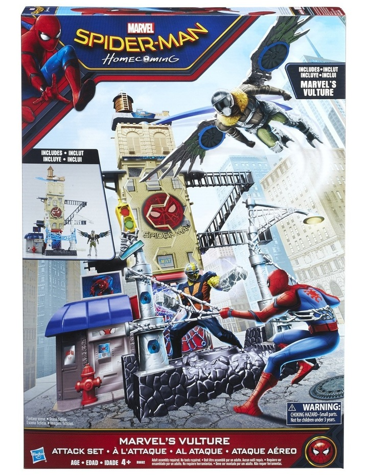 Spider-Man Web City Playset image 2