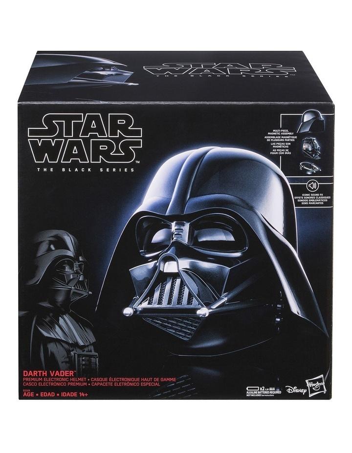 Black Series Darth Vader Premium Electronic Helmet image 1