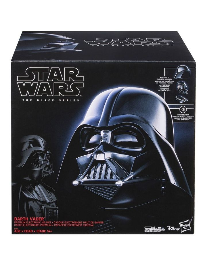 Black Series Darth Vader Premium Electronic Helmet image 2